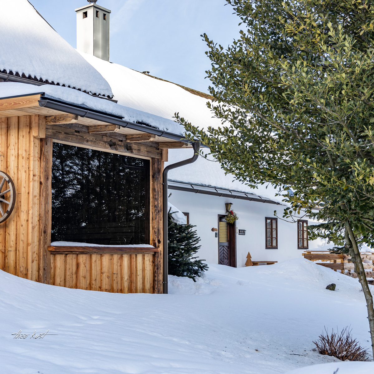 Modernisiertes Bauernhaus mit Sauna