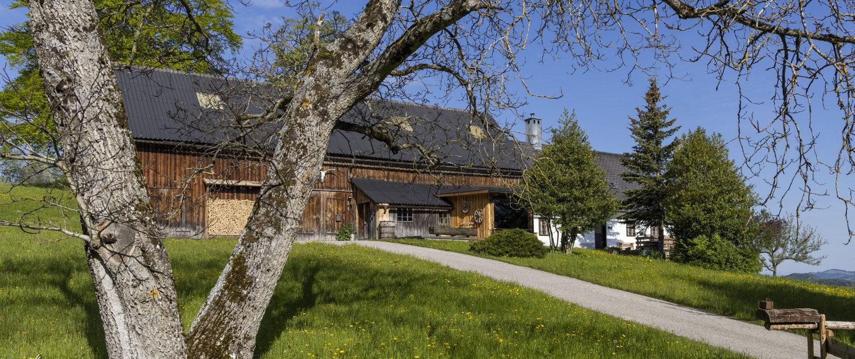 Ferienhaus am Berg, Ansicht